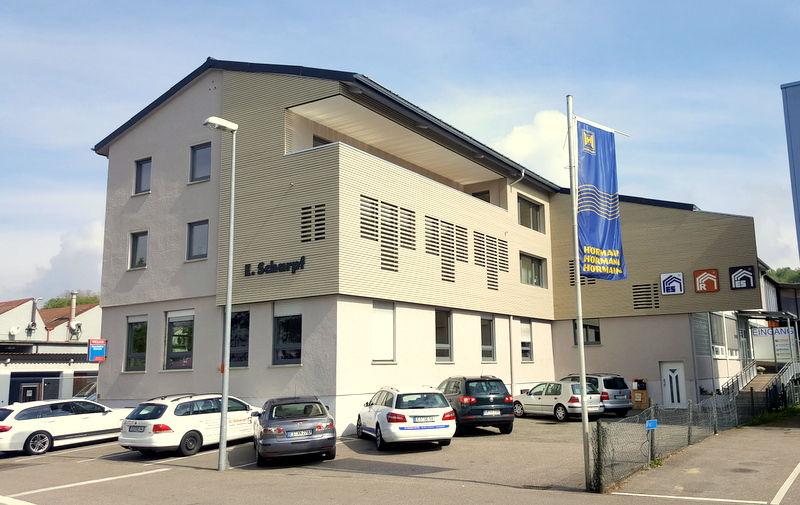 Firmengebäude der Scharpf-Gruppe